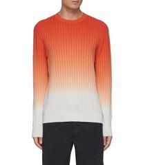 caleb' gradient cotton blend sweater