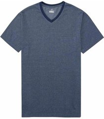 camiseta manga corta tejido jacquard slim fit para hombre 95839