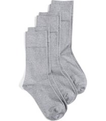 women's nordstrom crew socks, size 6-10.5 - grey