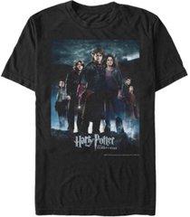 fifth sun harry potter men's goblet of fire group poster short sleeve t-shirt