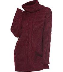 plus size turtleneck cable knit sweater dress