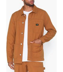 dr denim neil worker jacket jackor cognac
