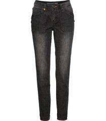 jeans boyfriend con dettagli arancio (nero) - rainbow