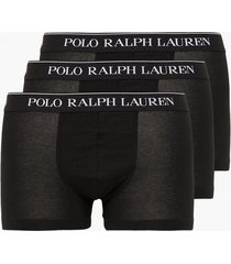 polo ralph lauren classic trunk 3-pack boxershorts black