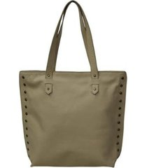 bolsa allegra shopper elegance leather feminina