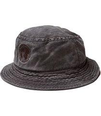 nigel cabourn globe logo bucket hat | raf grey| -gry
