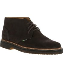botin cuero scott chocolate rockford