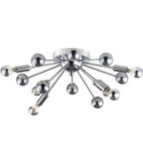 "jonathan y copernicus 20"" 7-light led pendant"