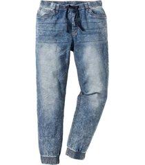 dra på-jeans, smal passform, raka ben