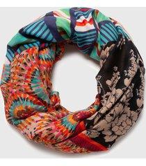 pañuelo heritage multicolor desigual