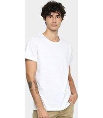camiseta forum lisa masculina