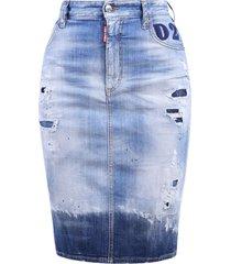 dsquared2 branded skirt