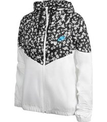 chaqueta nike floral mujer