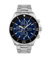 relógio hugo boss masculino aço - 1513704