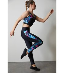 natori solstice leggings, women's, size l