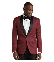 jos. a. bank slim fit tonal floral formal dinner jacket, by jos. a. bank