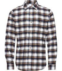 flannel work shirt skjorta casual multi/mönstrad gap