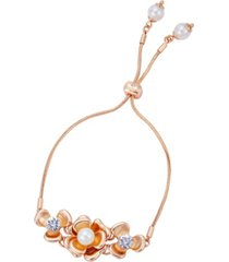 t tahari fall in love with florals slider bracelet