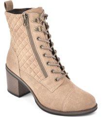 white mountain dorsett lace-up booties women's shoes