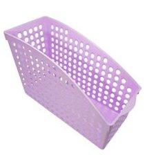 cesta thata esportes organizadora multiuso porta treco armário geladeira despensa lilás