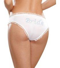 dreamgirl bride print tanga panty underwear