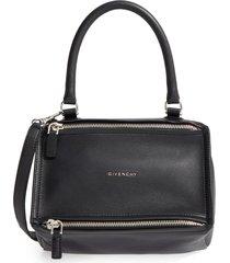 givenchy 'small pandora' leather satchel - black