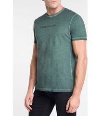 camiseta masculina básica estonada militar calvin klein jeans - pp