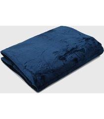 cobertor king kacyumara blanket azul - azul - dafiti