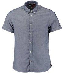 overhemd shirt blauw