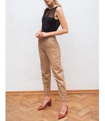 spodnie sztruksowe w gruby prążek