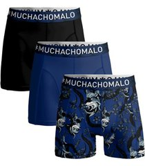 muchachomalo 3 stuks cotton stretch fox boxer