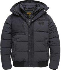 hooded jacket skytruck hooded black