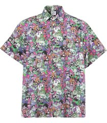 cartoon mania shirt, hot multicolor