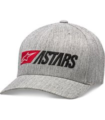 gorra alpinestars indulgent hat grey heather s/m