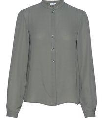 adele blouse blus långärmad grön filippa k