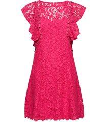 promise dress korte jurk roze guess jeans