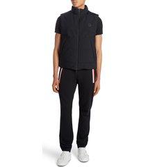 men's moncler causses down vest, size 3 - black