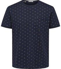 shirt ulrikaop ss o-neck dark sapphire