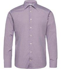 slim fit pink/red poplin shirt overhemd business paars eton