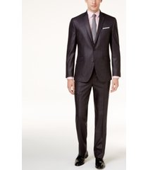 kenneth cole reaction men's big and tall techni-cole basketweave slim-fit suit