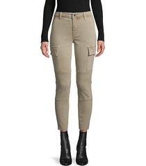 cotton-blend cargo jeans