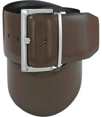 florsheim men's italian leather reversible belt