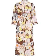 dress woven fabric knälång klänning multi/mönstrad gerry weber edition
