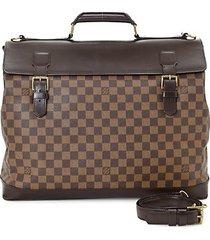 west-end gm damier ebene canvas travel bag