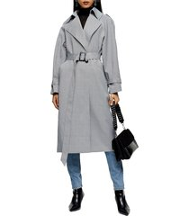 women's topshp cortez check trench coat