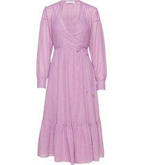 tulip long dress 11512 jurk knielengte roze samsøe samsøe