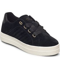 avona low lace shoes låga sneakers svart gant