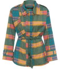 casaco feminino germain - azul