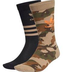 strumpor camo crew socks 2-pack