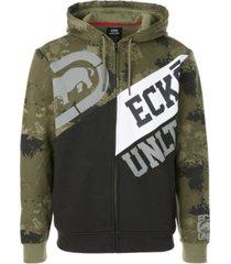 ecko unltd men's tricolor block hoodie